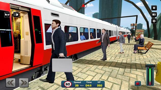 City Train Driver Simulator 2019 screenshot 13