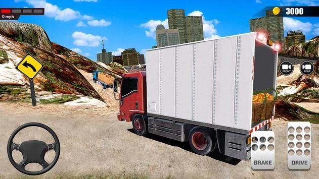 送货卡车模拟器2019:3D叉车游戏 截图 4
