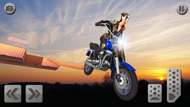 impossível rampa moto moto cavaleiro Super heroi imagem de tela 20