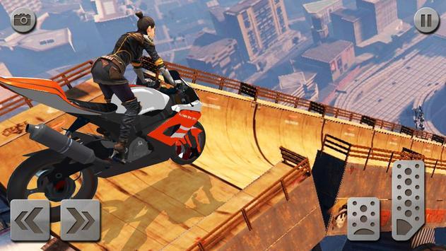impossível rampa moto moto cavaleiro Super heroi imagem de tela 3