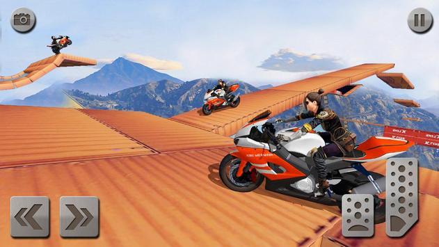 impossível rampa moto moto cavaleiro Super heroi imagem de tela 5