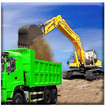 挖沙車駕駛救援模擬游戲