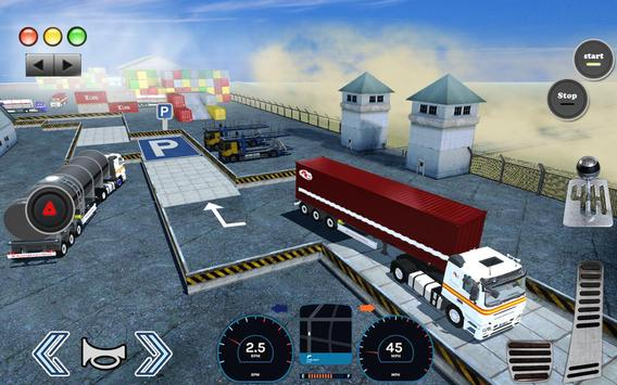 3D Truck Parking Simulator 2019: Real Truck Games screenshot 15