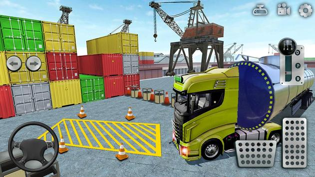 3D Truck Parking Simulator 2019: Real Truck Games screenshot 1