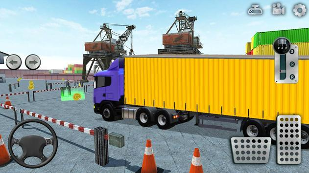 3D Truck Parking Simulator 2019: Real Truck Games screenshot 2