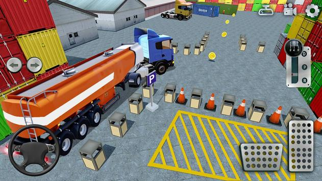 3D Truck Parking Simulator 2019: Real Truck Games screenshot 3
