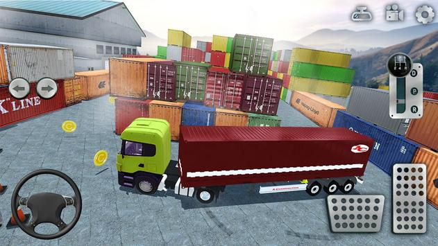 3D Truck Parking Simulator 2019: Real Truck Games screenshot 4