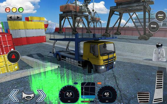 3D Truck Parking Simulator 2019: Real Truck Games screenshot 5