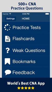 CNA Practice Test Prep 2020 - Practice Questions plakat