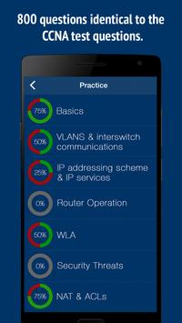 CCNA Exam Practice Questions screenshot 2