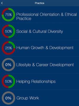 NCE Counselor Practice Test Prep 2020 تصوير الشاشة 11