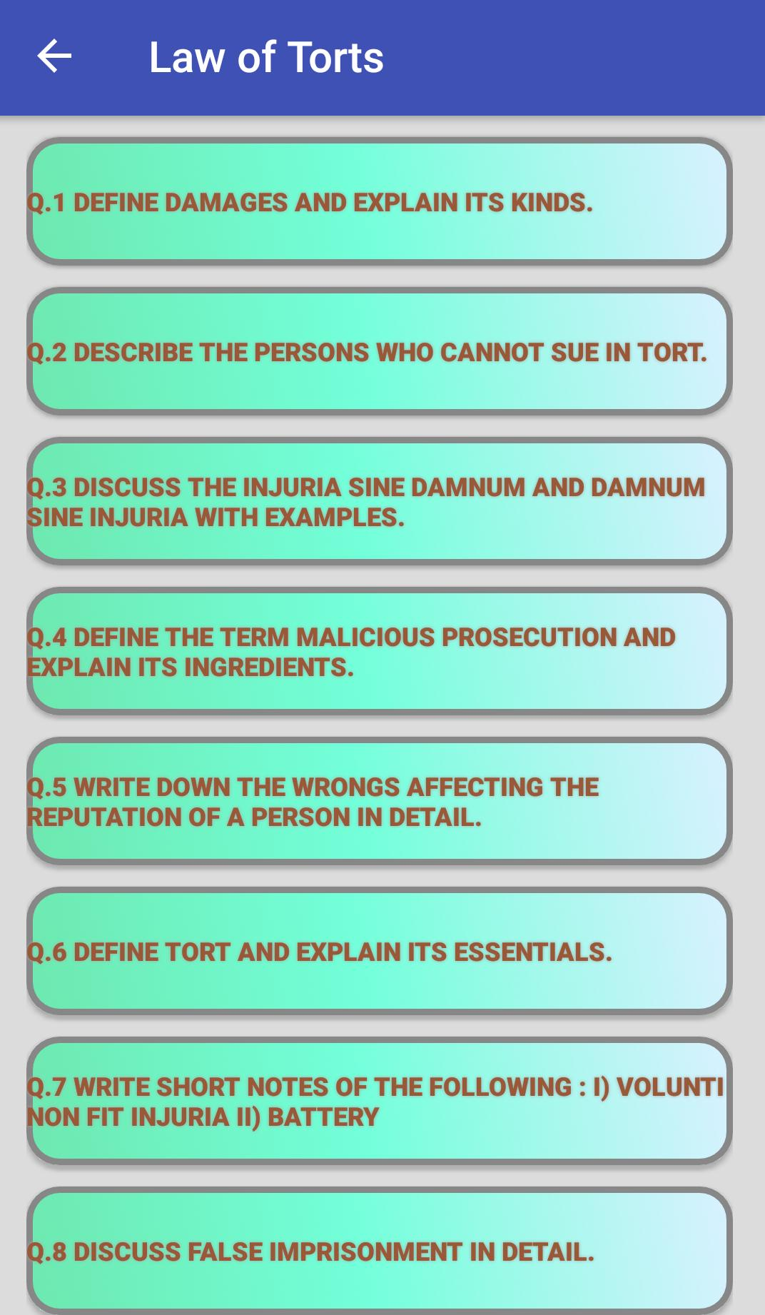 Law Notes for Android - APK Download