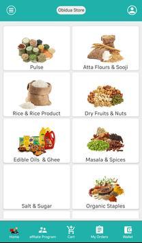 Obidua | Grocery Shopping App | Pay with G-Card screenshot 3