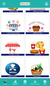 Obidua | Grocery Shopping App | Pay with G-Card screenshot 1