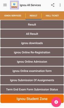 Ignou All Services screenshot 2