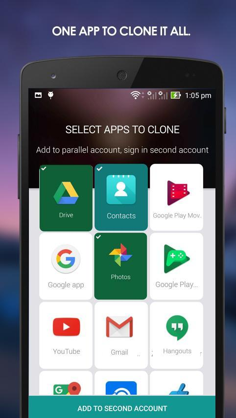 Parallel Accounts for Android - APK Download