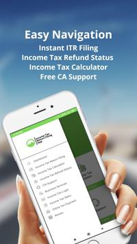 Income Tax Return Filing App : Efiling App 2019 screenshot 1