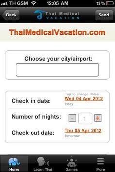Thai Medical Vacation screenshot 4