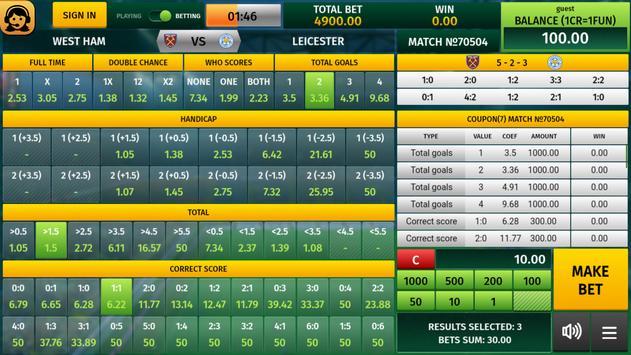 Virtual Soccer poster