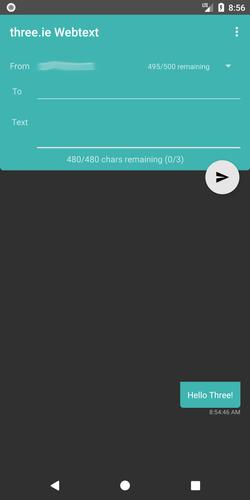 three ie Webtext for Android - APK Download