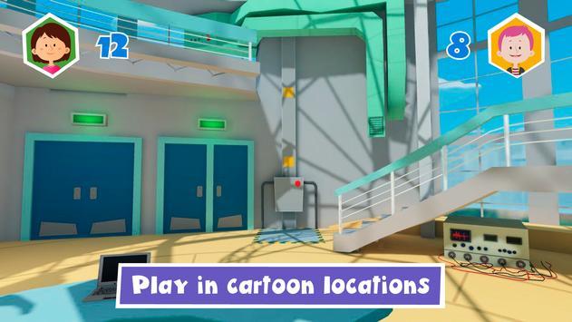 Fixies. Hide and seek - online game screenshot 1