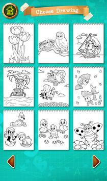 Coloring Pages - Sketchbook art therapy screenshot 2