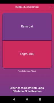 İngilizce Kelime Kartları screenshot 2