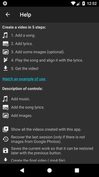 Video Lyrics screenshot 7