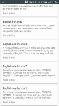 Inglés con la Teacher screenshot 4