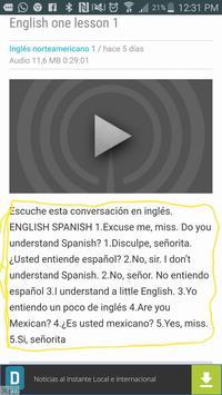 Inglés con la Teacher screenshot 3