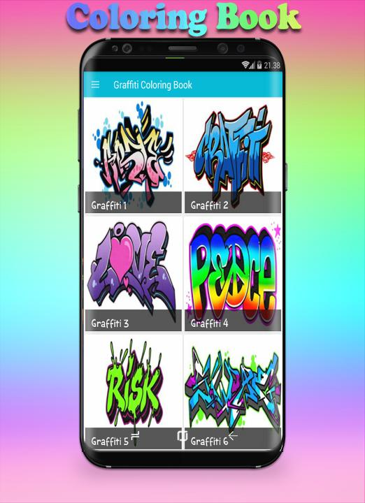 Graffiti Coloring Book For Android Apk Download