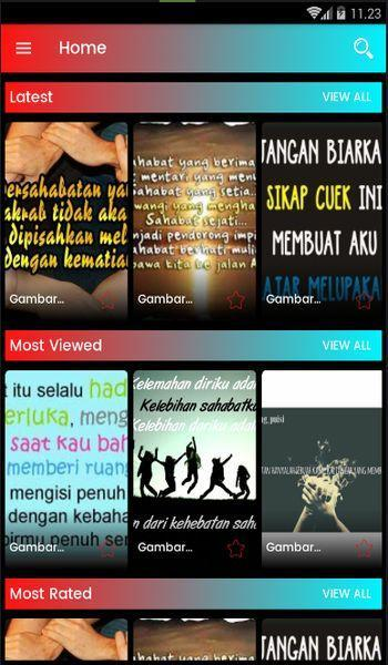 Status Wa Gambar Kata Bijak Sahabat For Android Apk Download
