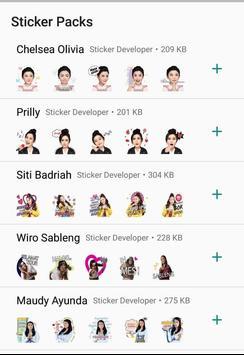 WA Sticker Artis Indo Pelawak for WhatsApp screenshot 3