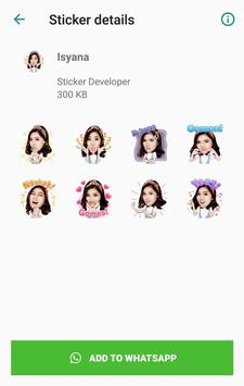 WA Sticker Artis Indo Pelawak for WhatsApp screenshot 11