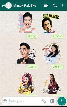 WA Sticker Artis Indo Pelawak for WhatsApp screenshot 12
