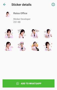 WA Sticker Artis Indo Pelawak for WhatsApp screenshot 15