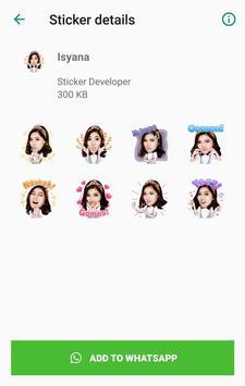 WA Sticker Artis Indo Pelawak for WhatsApp screenshot 5