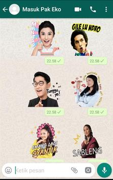 WA Sticker Artis Indo Pelawak for WhatsApp screenshot 6