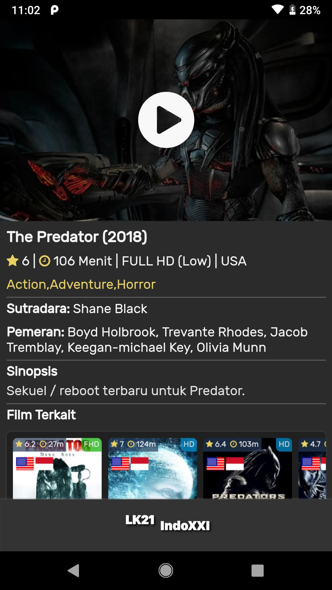 Nonton Lk21 IndoXXI Pro FHD for Android - APK Download