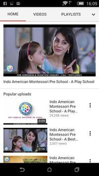 Indo American Montessori Pre School - ERP screenshot 1