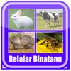 Belajar Membaca Binatang biểu tượng