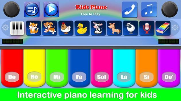 Kids Piano poster