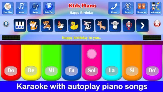Kids Piano ảnh chụp màn hình 17