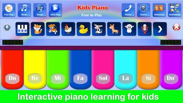 Kids Piano ảnh chụp màn hình 12
