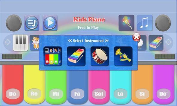 Kids Piano screenshot 7