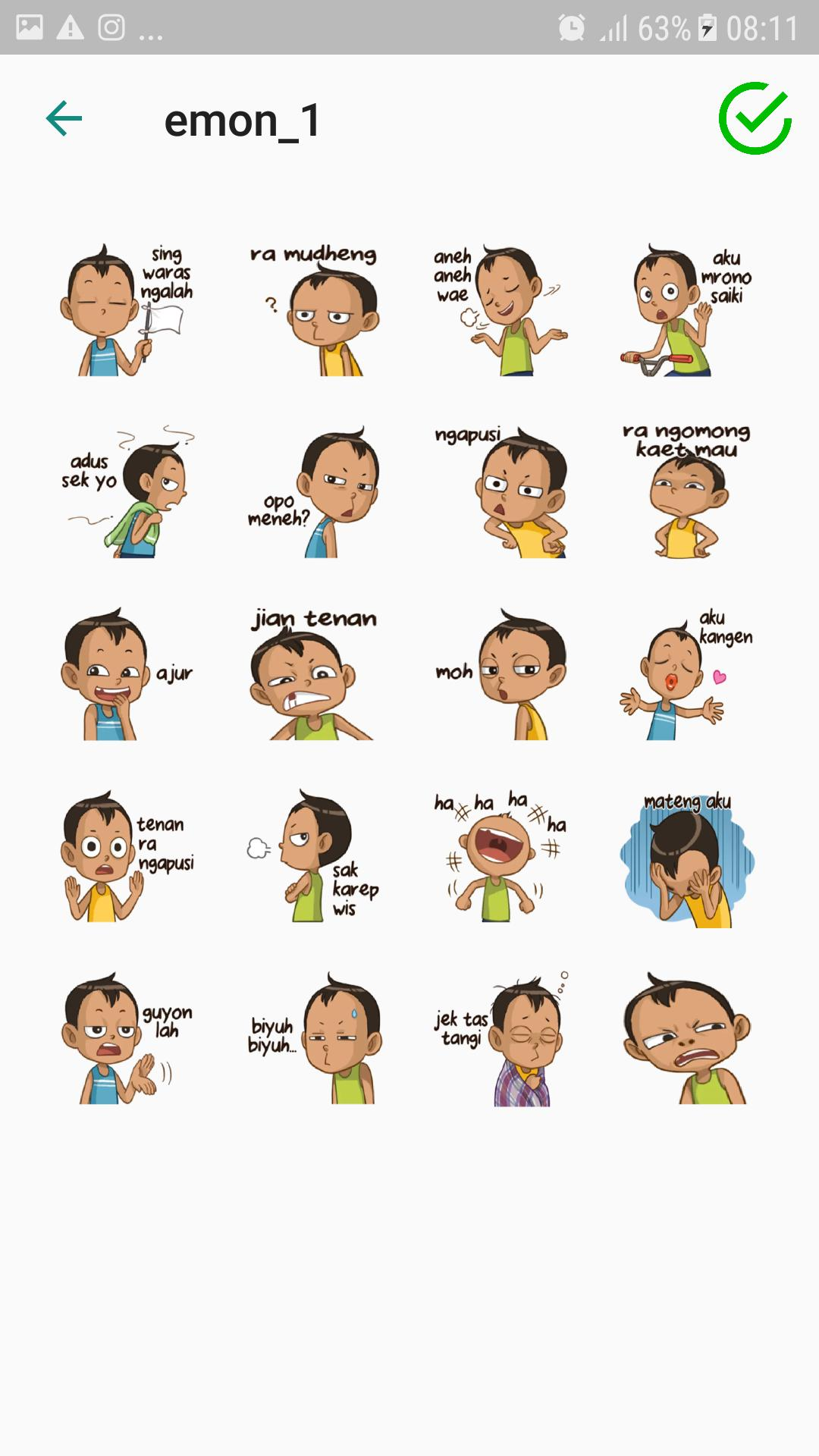 Indonesia Sticker Wastickerapps For Android Apk Download