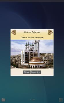 Al-Amin Calendar- Prayer Times screenshot 10