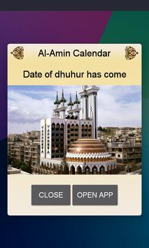 Al-Amin Calendar- Prayer Times screenshot 2