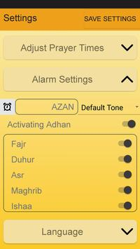 Al-Amin Calendar- Prayer Times screenshot 5
