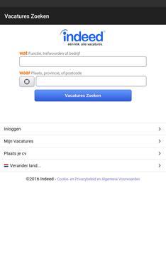 Indeed Vacatures Zoeken screenshot 5